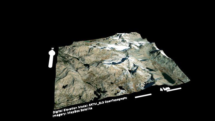 Test 3D Map 3D Model