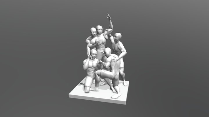 Huddle_Of_Feels 3D Model