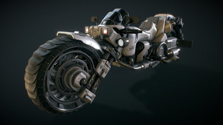 The Terminus Enforcer 3D Model