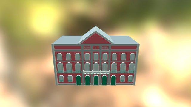 Teatro Da Trindade - 3D 3D Model