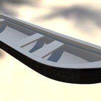 Currach WIP 3D Model