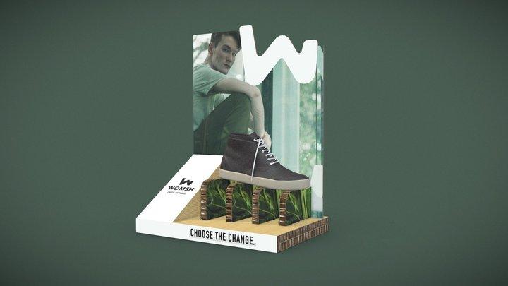 Espo banco premium 3D Model