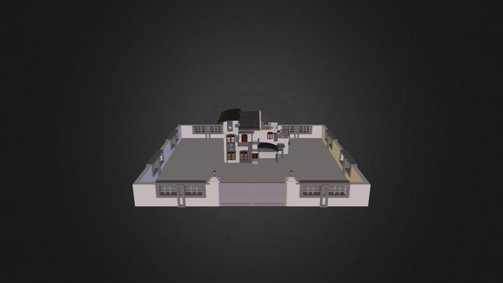 House- Exterior 3D Model