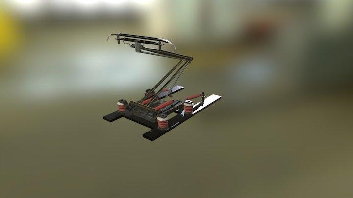 Tgv Pantograph 3D Model