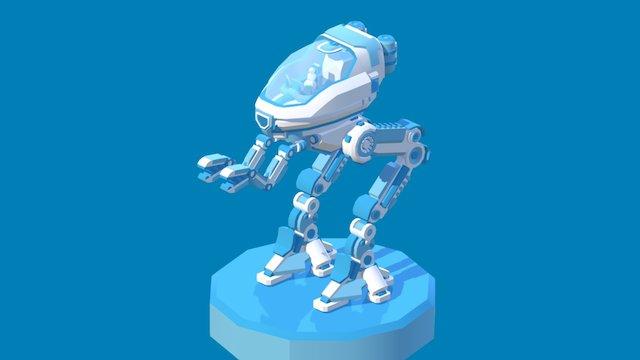Merry X-Mech-Walker 3D Model