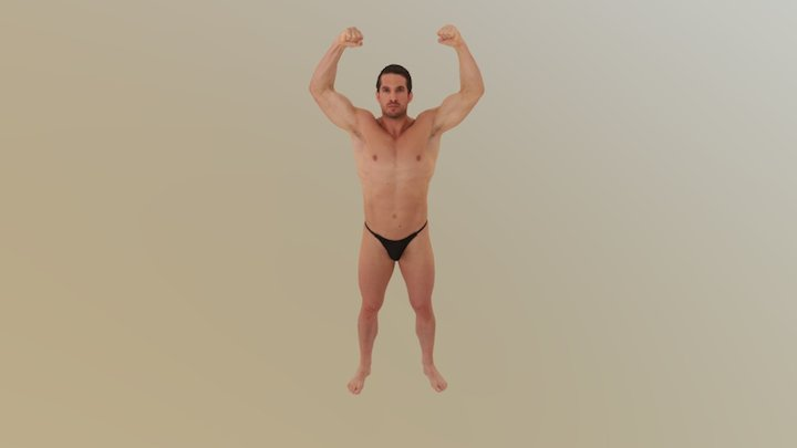 manos amenazantes 3D Model