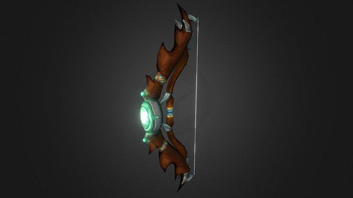 Fantasy Bow for Game Art 3D Model
