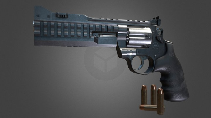 Korth Super Sport .357 Magnum 3D Model