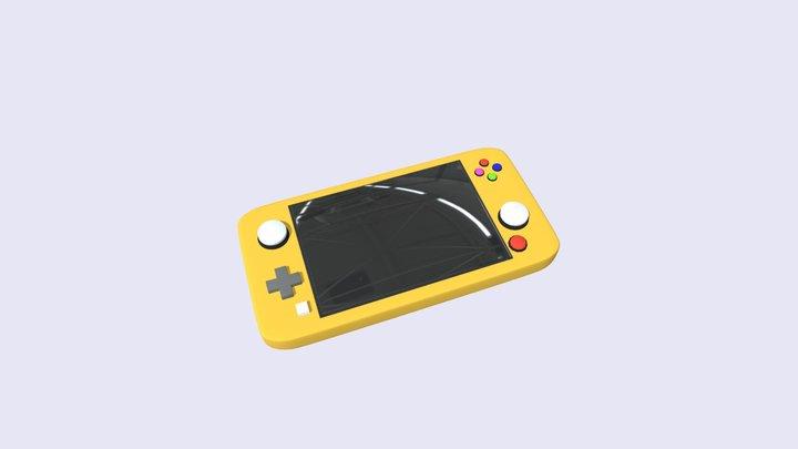 консоль игра 3D Model