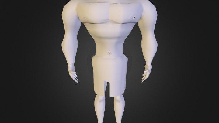 581689 Gustavo Aguilar Mod Personaje 3D Model