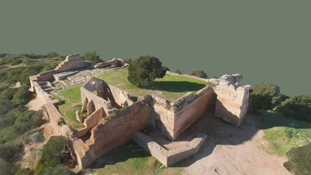 Castelo de Paderne 3D Model