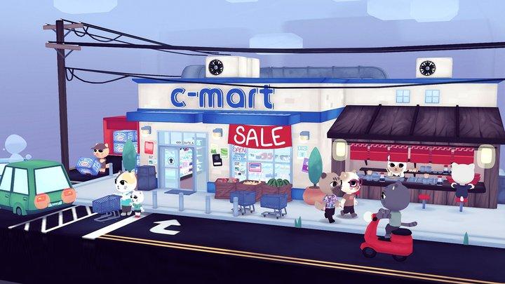 C-Mart 3D Model