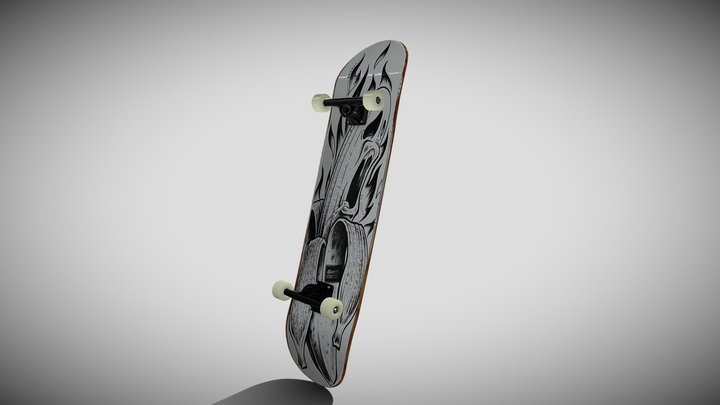 Skateboard 8.5 3D Model