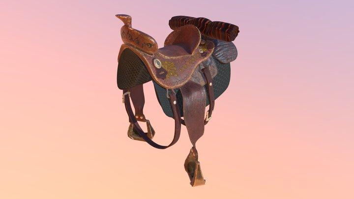 Half Saddle 3D Model