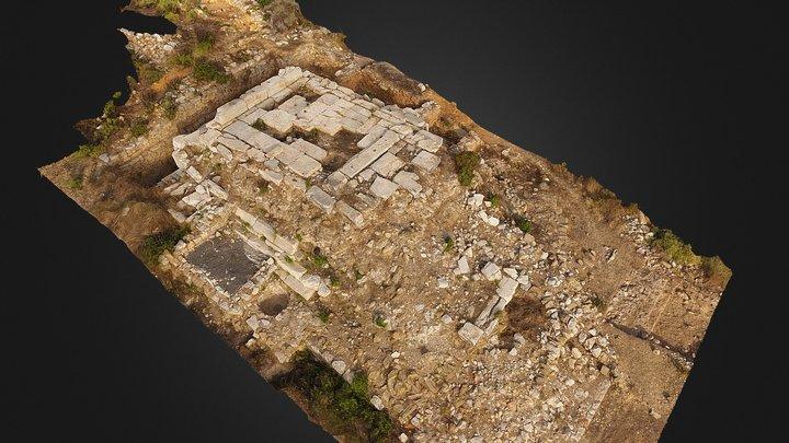 Third Century Roman Temple 3D Model