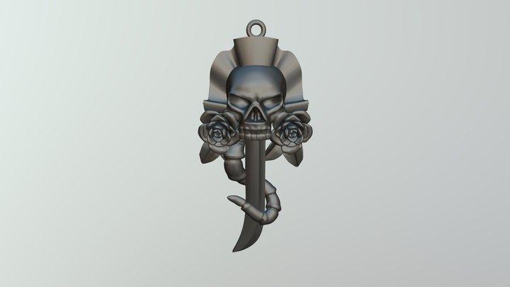 Pendant Skull 3D Model