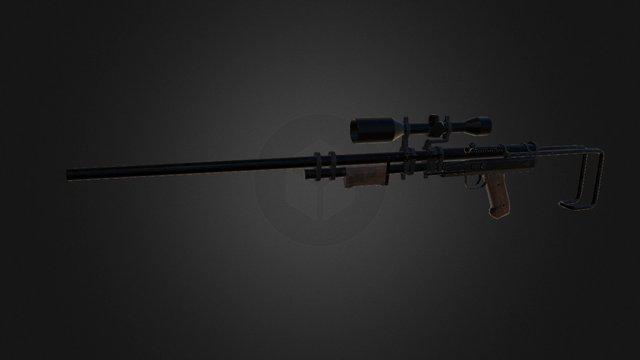 Long Rifle 3D Model