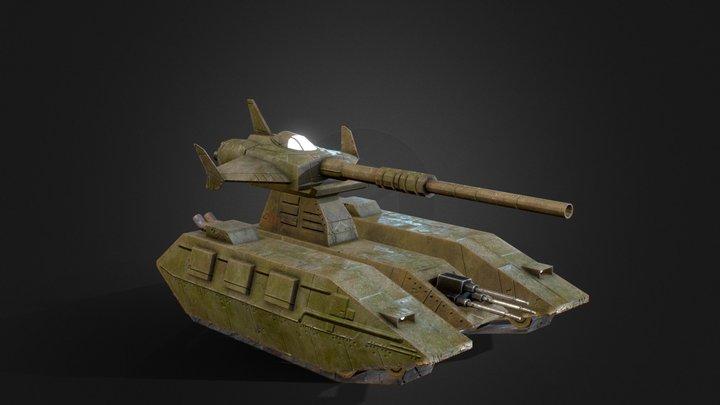 Magella Attack 3D Model