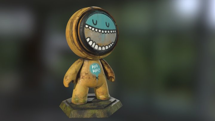 """MeetMat17 """"HAHA"""" Competition Entry 3D Model"""