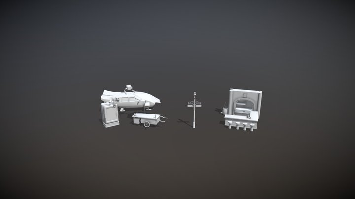 XYZ. DraftPunk. Lesson 3. Draft 10 Game Models. 3D Model