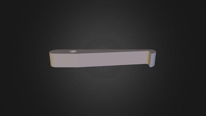 Abziehhebel 3D Model