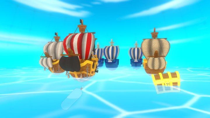 Racing Pirate 3D Model