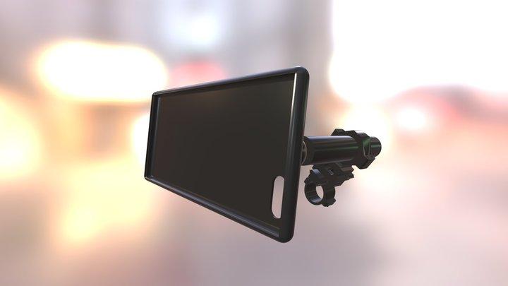 The Smartphone Scope Mount 3D Model