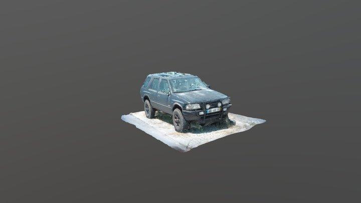Frontera - Car Test 3D Model