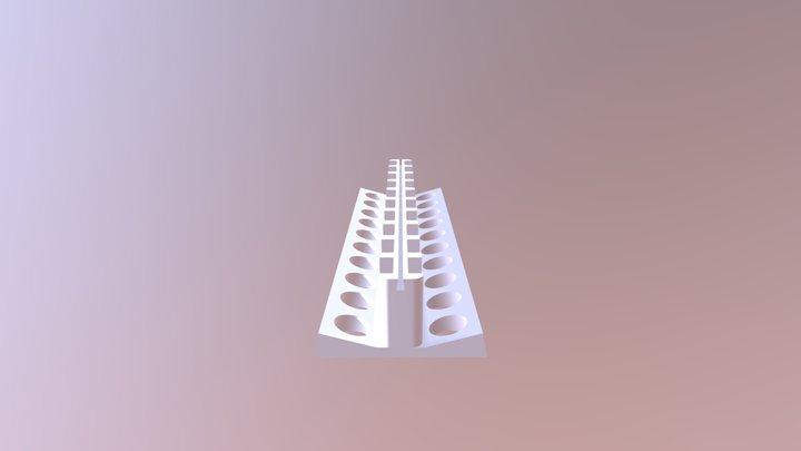 Magnetic rack/stand for -omics/biol experiments 3D Model