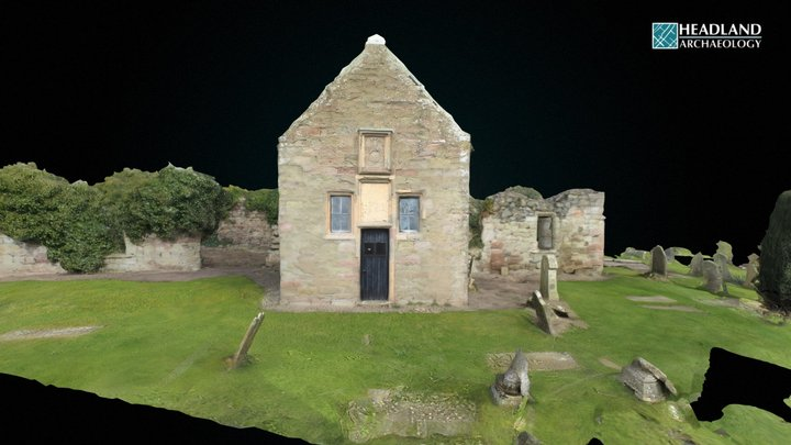 Kinfauns Parish Church - Pre consolidation 3D Model