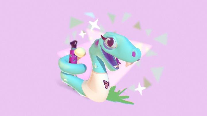 Vsssco: Animal Crossing Snake Concept! 3D Model
