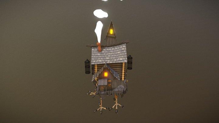 Baba Yaga Haunted House 3D Model