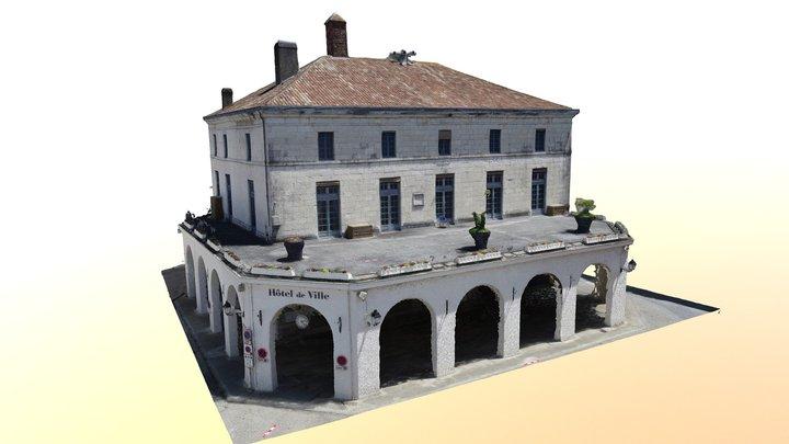Mairie de Salies-de-Béarn 3D Model