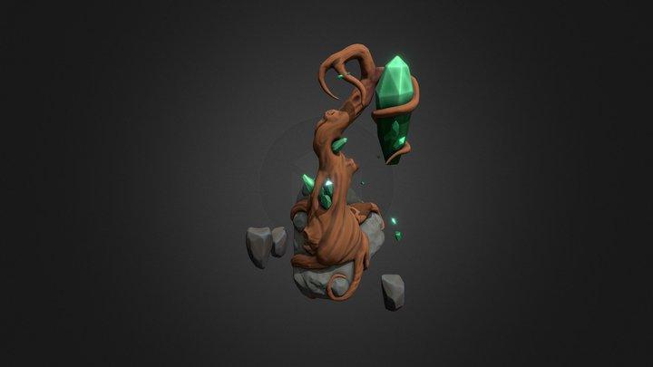 Emerad tree 3D Model