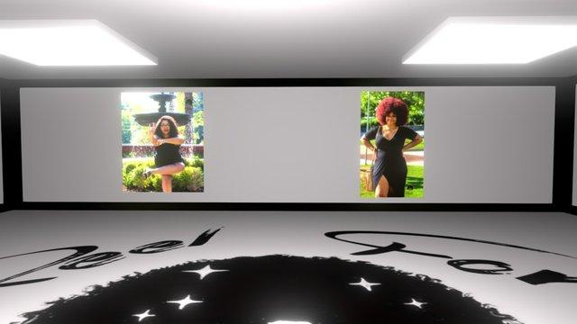 Reel Form Media Gallery 01 3D Model
