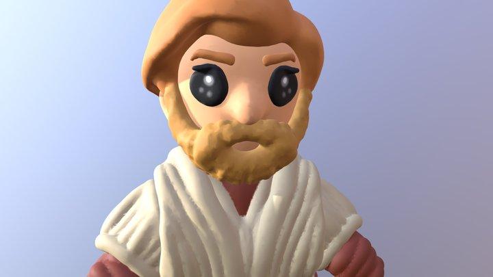 Ian McGregor   Obi Wan Kenobi 3D Model