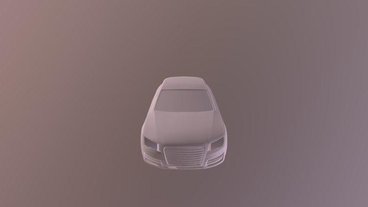 Car #2 In Progress 3D Model