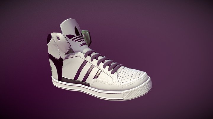 Adidas Sneakers 3D Model