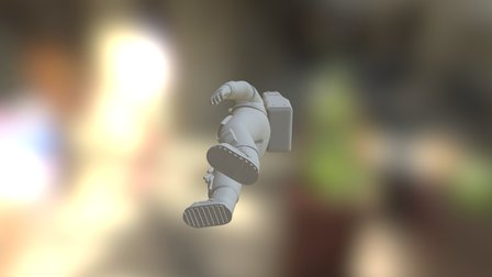apollo astronaut_fixed 3D Model