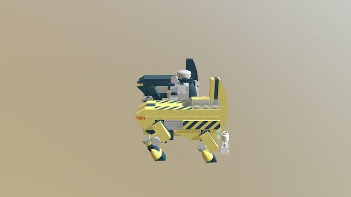 Rhinos Comparison 3D Model