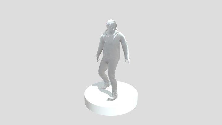Silent Hills P.T Character Statue 3D Model