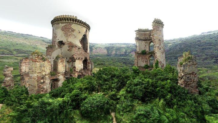 Chervonogorodsky castle_Червоногородський замок 3D Model