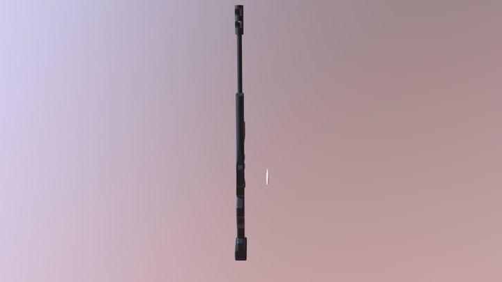 Sniper V27 3D Model