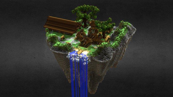 Skyblock Spawn 3D Model