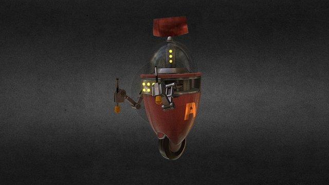 Bot Worker TF2 3D Model