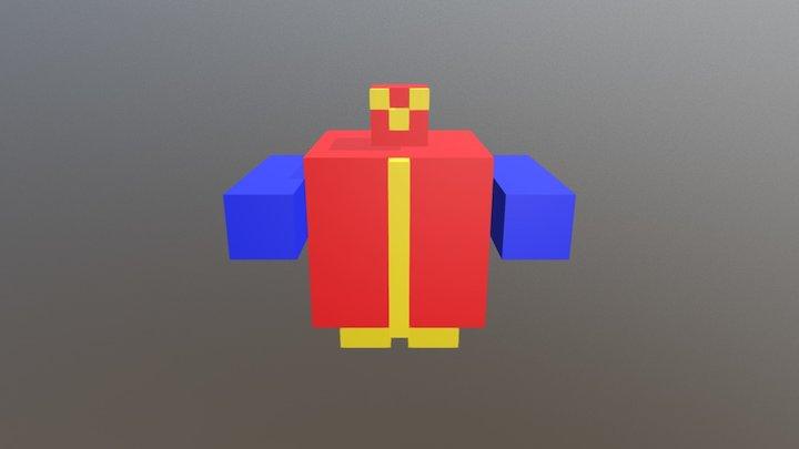 robot gordo 3D Model