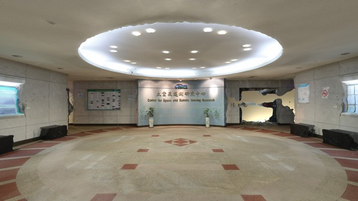 CSRSR Lobby generated with panoramic photographs 3D Model