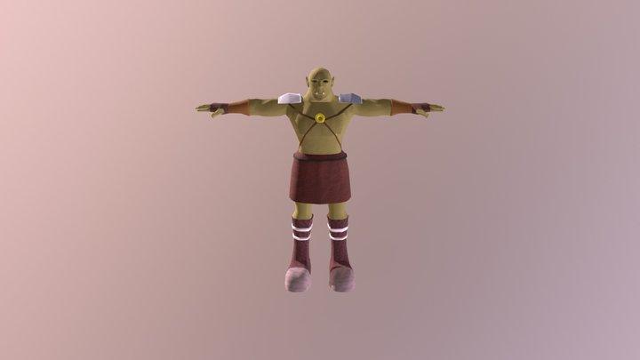 Fantasy Orc 3D Model