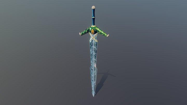 Elven Sword 3D Model