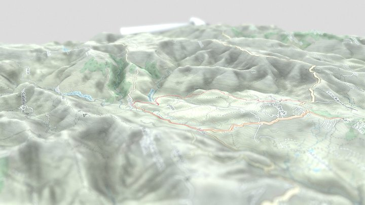 Bon Bon - Kan Irag Trail  Sirao Cebu Philippines 3D Model